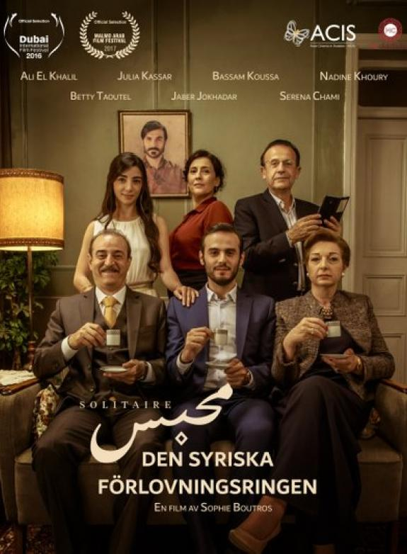 Den syriska förlovningsringen poster