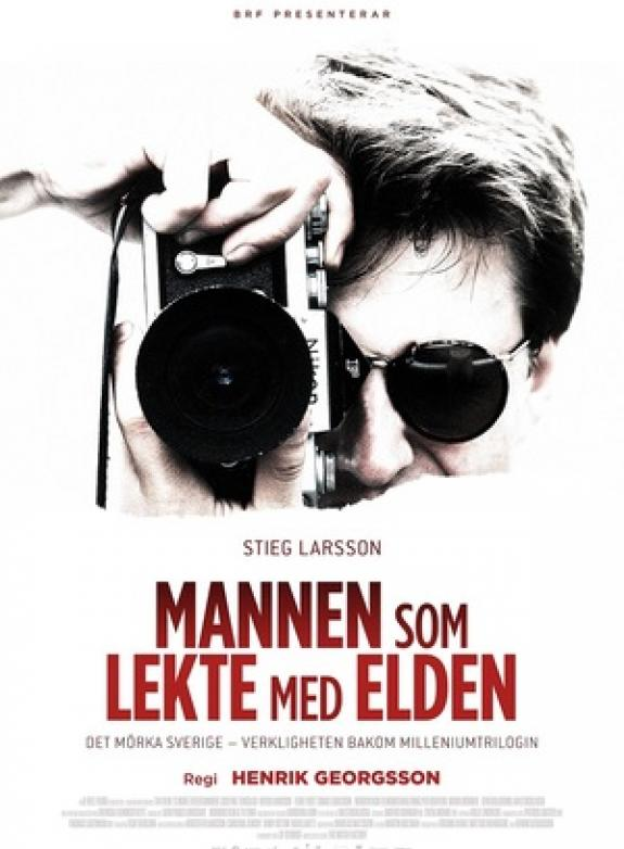 Stieg Larsson - Mannen som lekte med elden poster