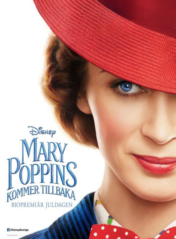 Mary Poppins kommer tillbaka poster