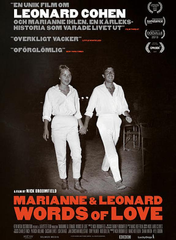 Marianne & Leonard: Words of Love poster