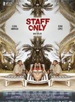 Staff only poster