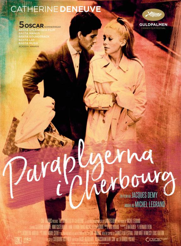 Paraplyerna i Cherbourg poster