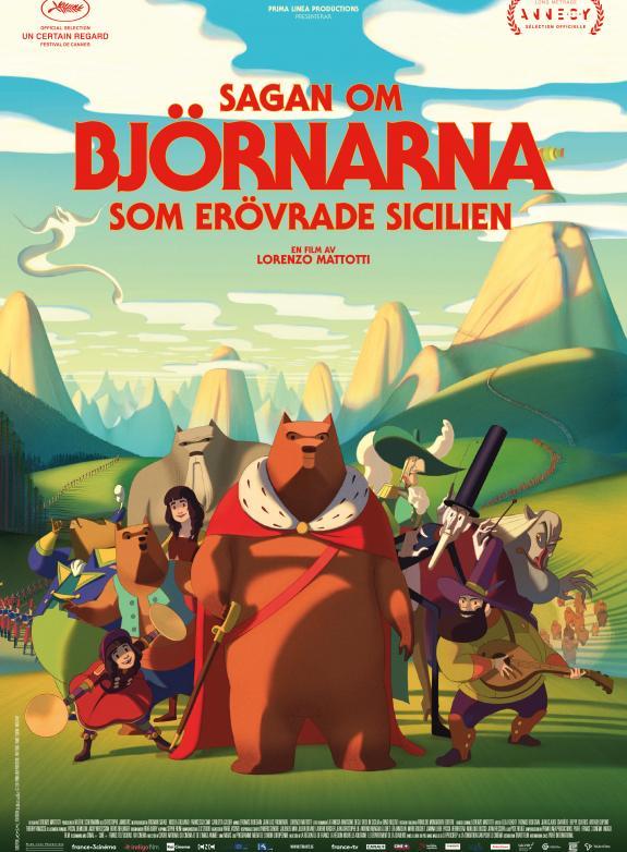 Sagan om björnarna som erövrade Sicilien poster