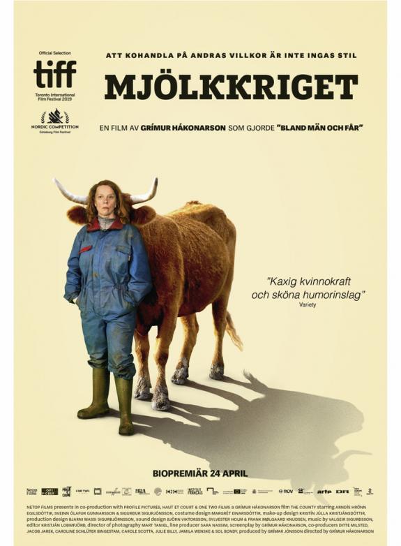 Mjölkkriget poster