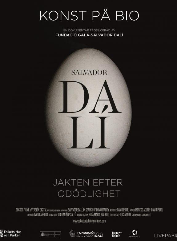 Salvador Dalí - Jakten efter odödlighet poster
