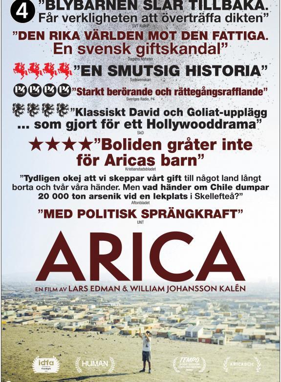 Arica poster