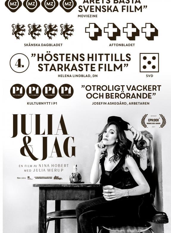 Julia & Jag poster