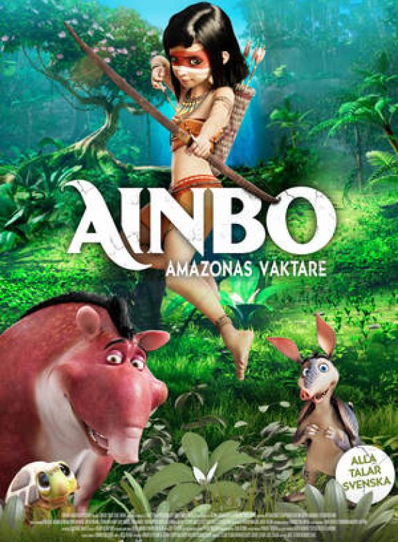 Ainbo: Amazonas väktare poster
